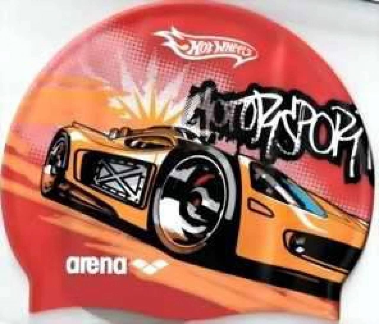 arena Kinderbadekappe hot wheels