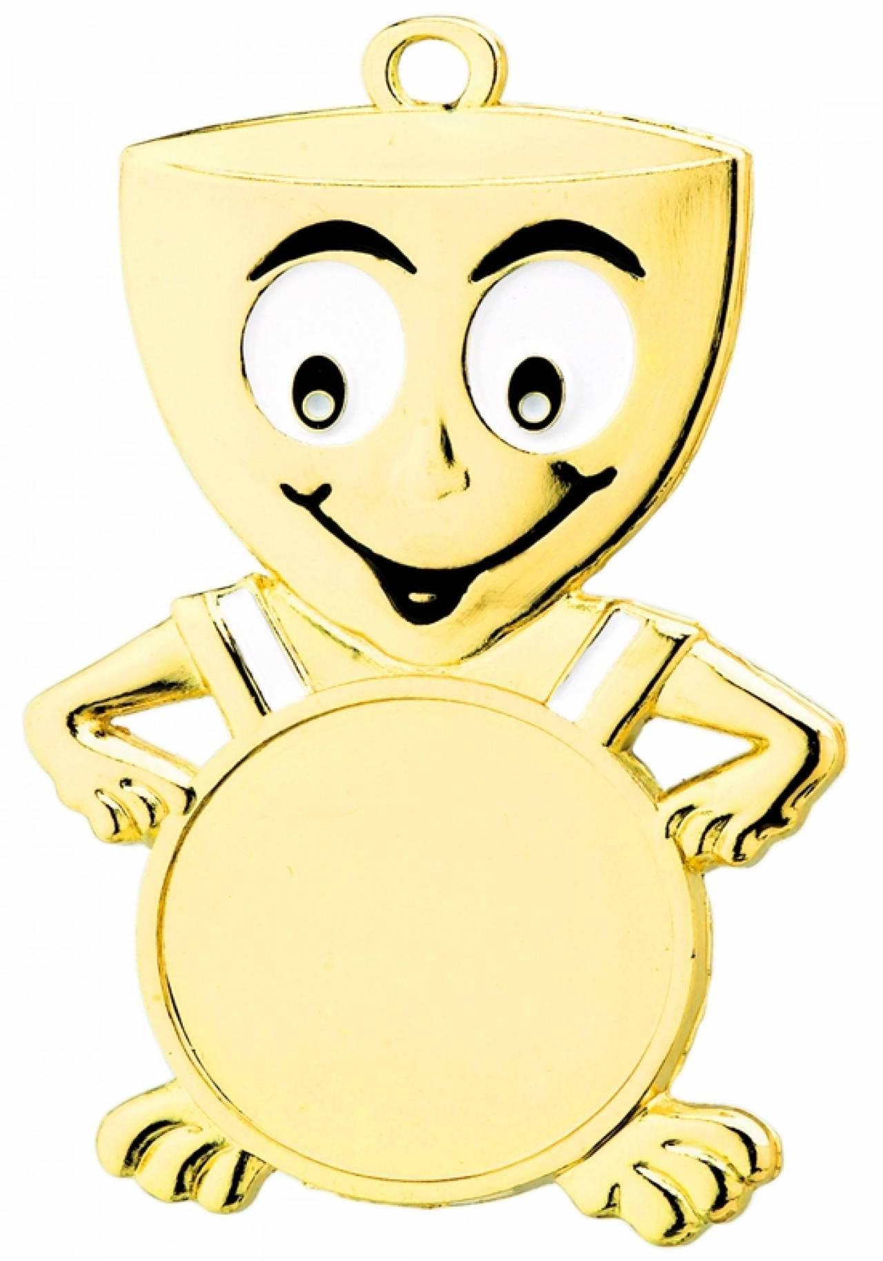 Pokalmedaille in Gold