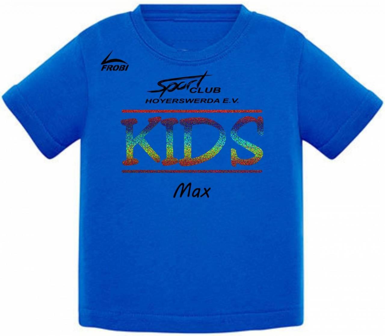 Baumwoll-Shirt KIDS - SC Hoyerswerda
