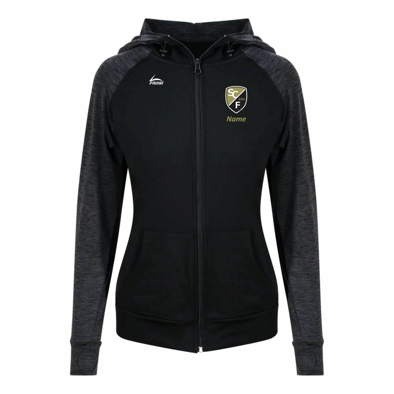 Cool Contrast Damen Jacket - SC Freital