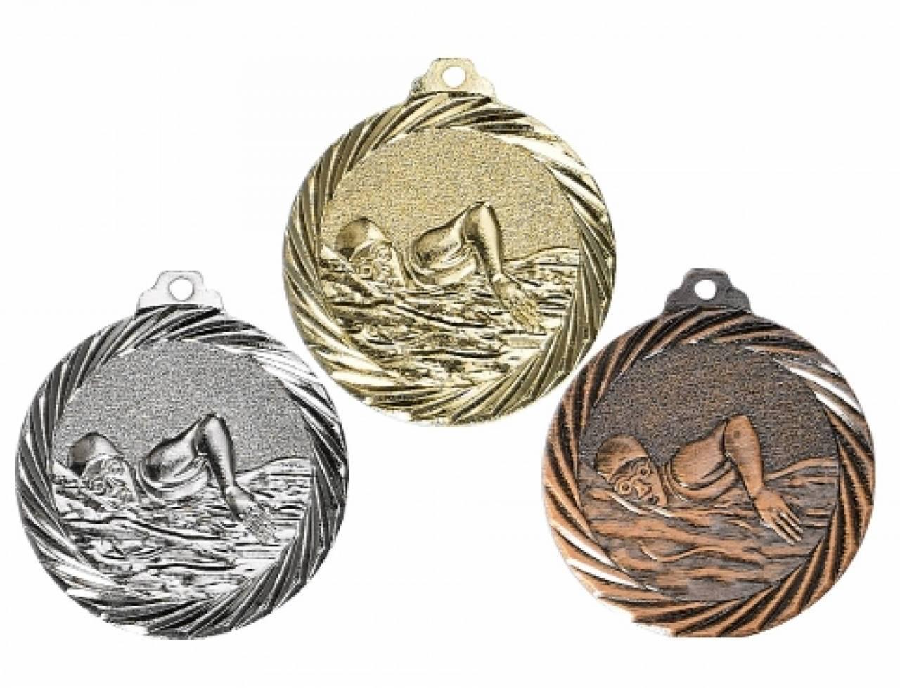 Medaille Schwimmen 32mm