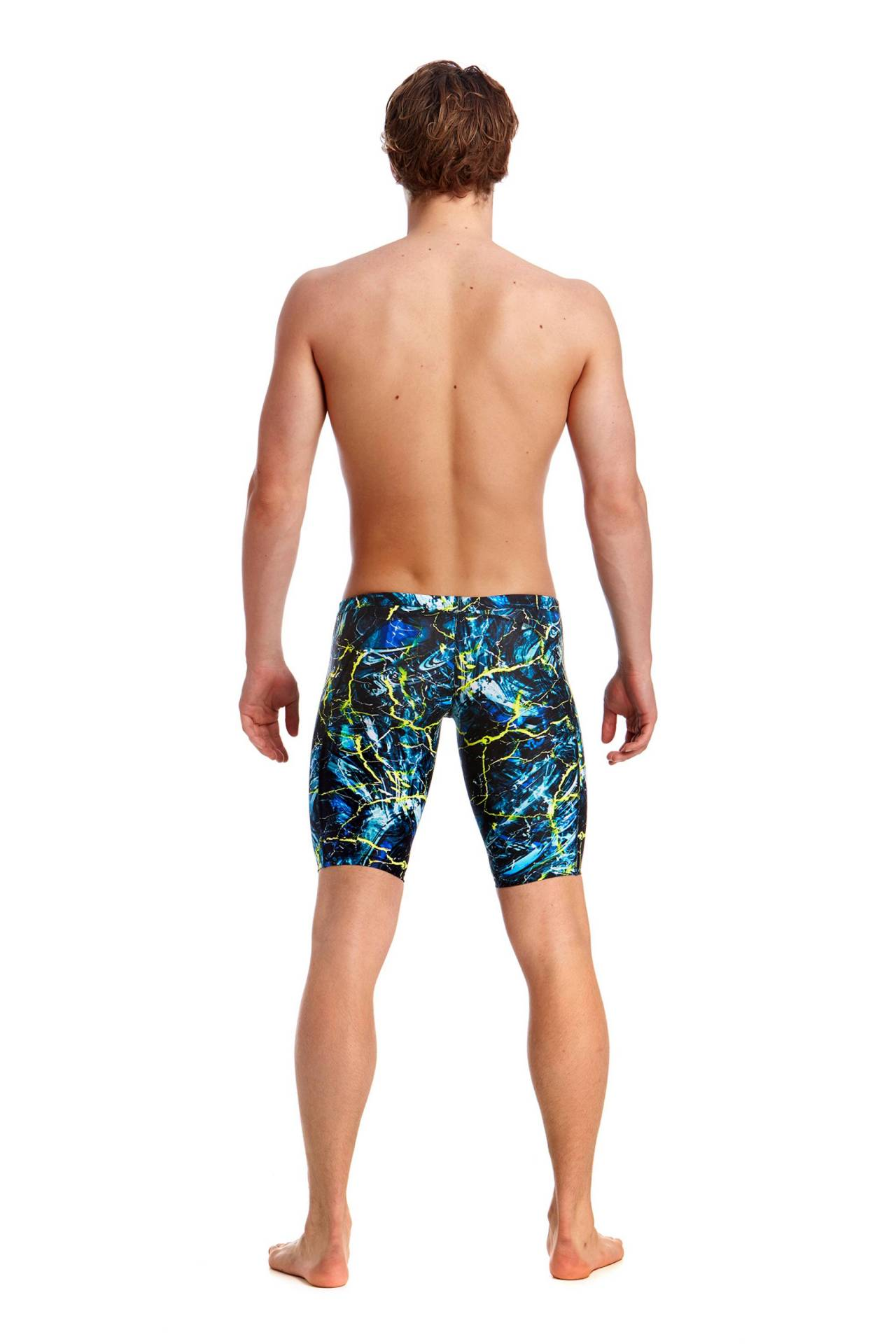 Funky Trunks Training Mens Midnight Marble