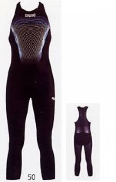 arena man Powerskin R-Evo Full Body Long Leg schwarz