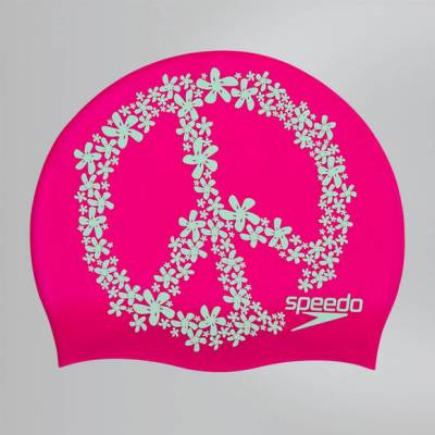 Slogan Print Badekappe