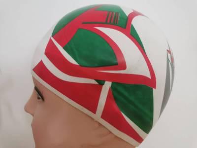 Badekappe Italien   3-D Flag