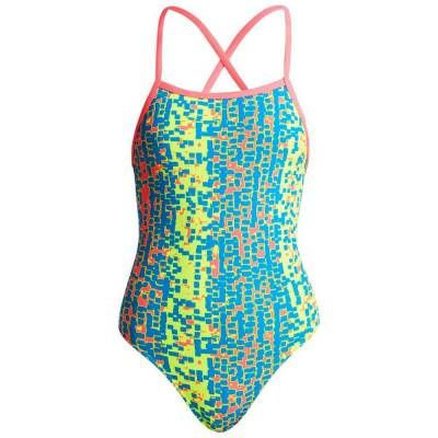 Funkita Girls Strapped one Piece Secound Skin